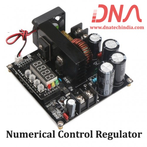 Numerical Control Regulator DC 8-60 Volts to 10-120 Volts 15 Ampere Boost Converter Module