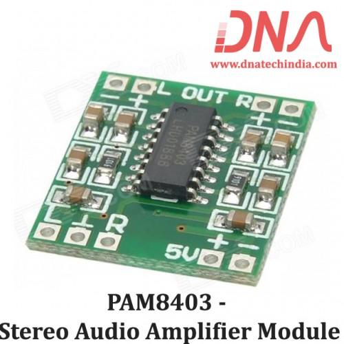 PAM8403 - Stereo Audio Amplifier Module
