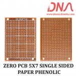 ZERO PCB 5X7 SINGLE SIDED PAPER PHENOLIC