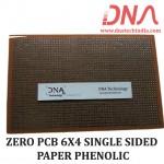 ZERO PCB 6X4 SINGLE SIDED PAPER PHENOLIC