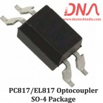 PC817/EL817 SMD Optocoupler IC (SOP-4 Package)