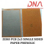 ZERO PCB 2X3 SINGLE SIDED PAPER PHENOLIC