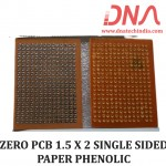 ZERO PCB 1.5 X 2 SINGLE SIDED PAPER PHENOLIC