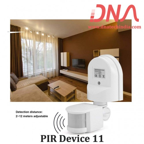 Wall Mount PIR Motion Switch 180 Degree 230 Volts (DNA-11)