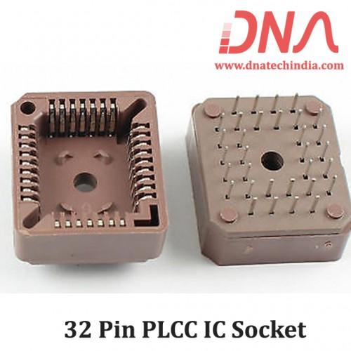 32 Pin PLCC IC Socket