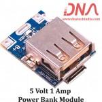 5 volt 1 ampere Power bank Module
