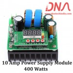 400W 10 Ampere Digital controlled DC to DC Step Up Boost Converter