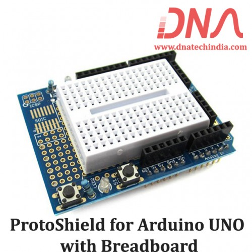 ProtoShield for Arduino UNO with Breadboard