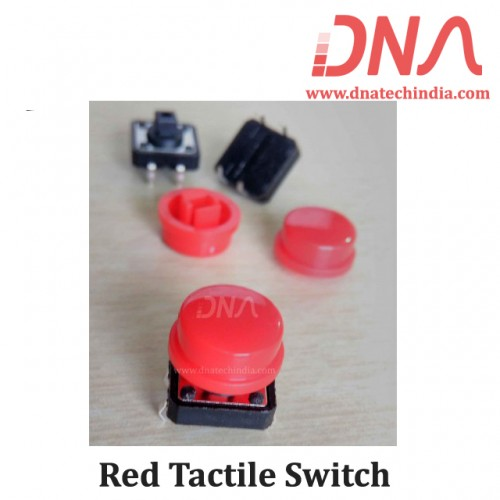 Red Tactile Switch