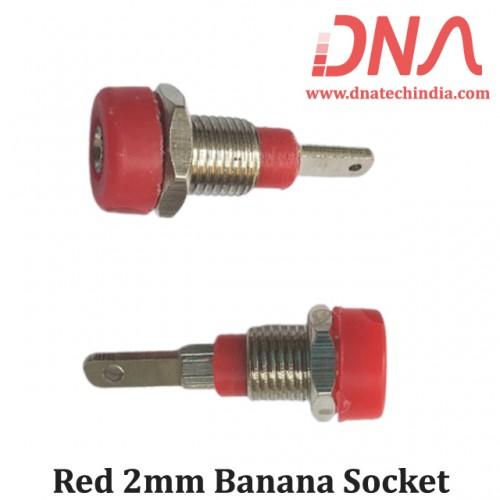 Red 2 mm Banana socket