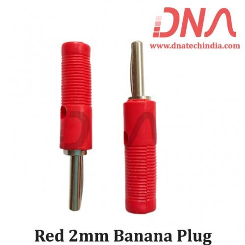 Red 2mm Banana Plug