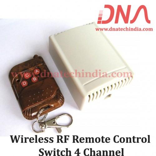 Wireless RF Remote Control Switch 4 Channel