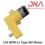 150 RPM L1 Type BO Motor