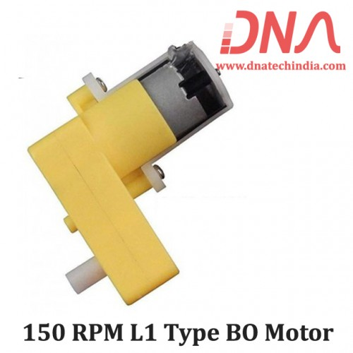 150 RPM L1 Type BO Motor