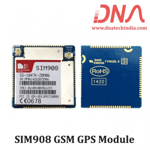 SIM908 GSM GPS Module