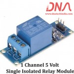 1 channel 5 Volt single Isolated Relay Module