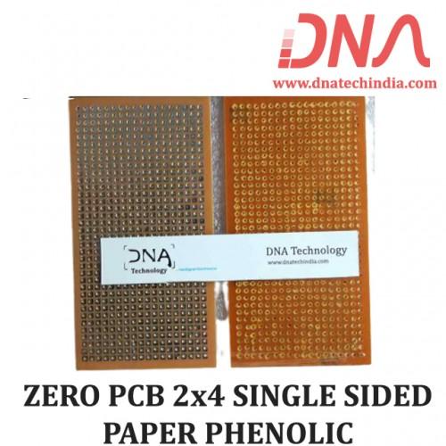 Zero PCB 2x4 SINGLE SIDED PAPER PHENOLIC