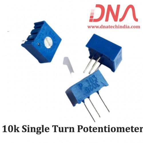 10k Single Turn Potentiometer