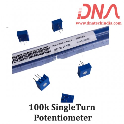 100k Single Turn Potentiometer