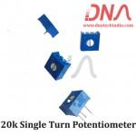 20k Single Turn Potentiometer