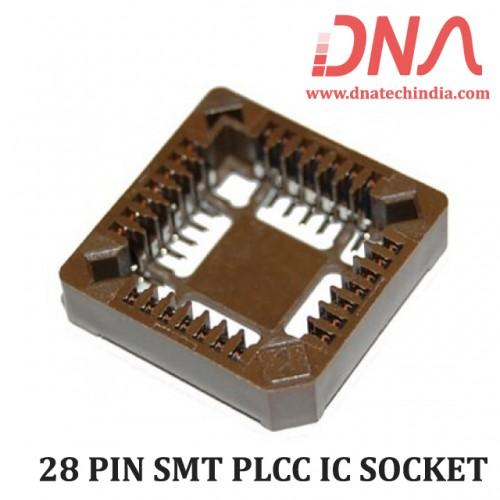 28 PIN SMT PLCC IC SOCKET