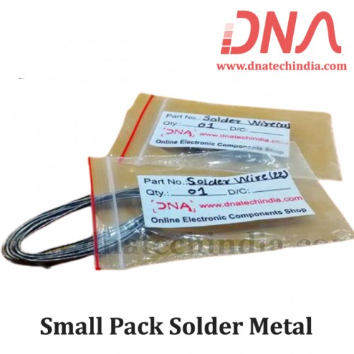 Small Pack Solder Metal
