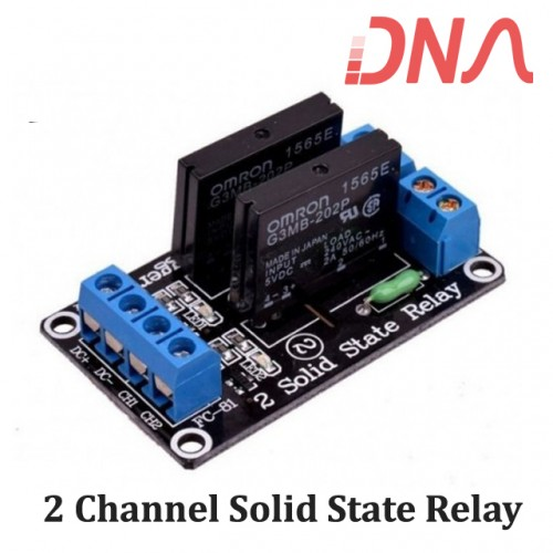 2 Channel 5 Volts SSR Module