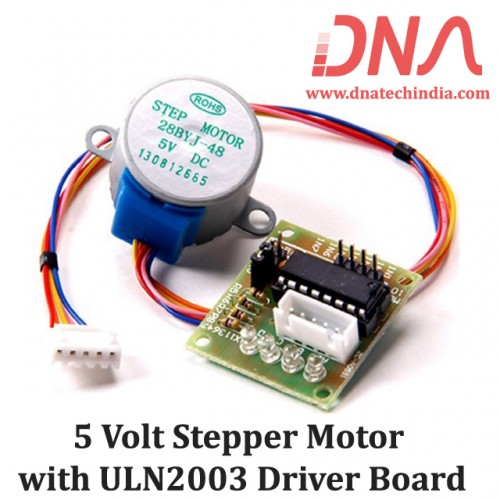 5 Volt Stepper Motor with ULN2003 Driver Board