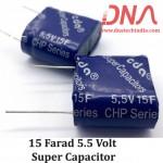 15 Farad 5.5 Volt Super Capacitor