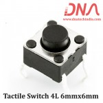 Tactile Switch 4L 6mmx6mm