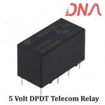 HFD27/0005-S 5 Volt DPDT Telecom Relay