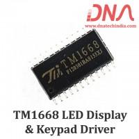 TM1668 LED Display Driver & Keypad IC (SOP24 Package)