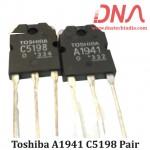 2SA1941 2SC5198 Transistor Pair