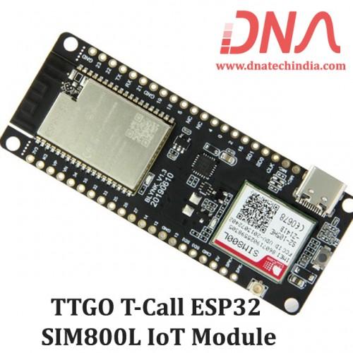 TTGO T-Call ESP32 and SIM800L Module