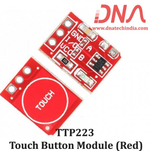 TTP223 Touch Button Module (Red)