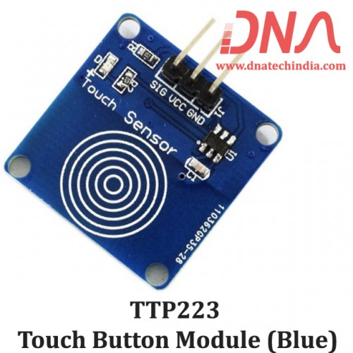 TTP223 Touch Button Module (Blue)