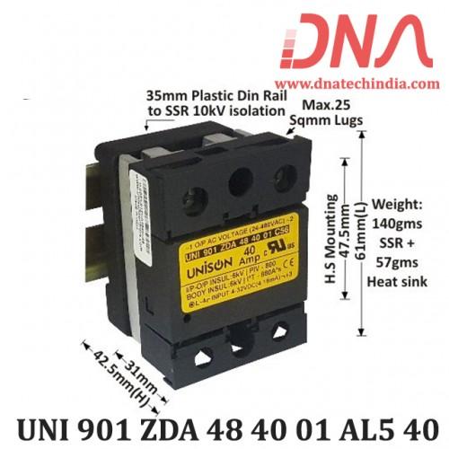 DC to AC 40 Amp SSR (Unison)