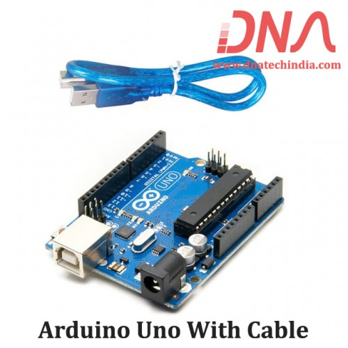 Arduino Uno With Cable