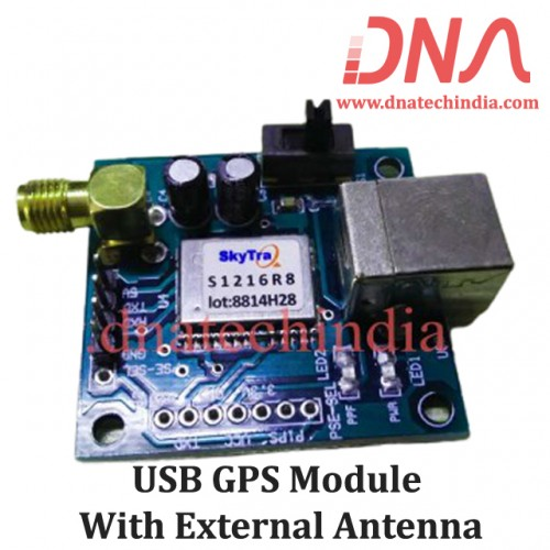 USB GPS Module with external Antenna