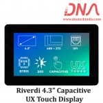 """Riverdi 4.3"""" Capacitive UX Touch Display"""