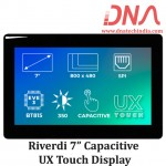 """Riverdi 7"""" Capacitive UX Touch Display"""