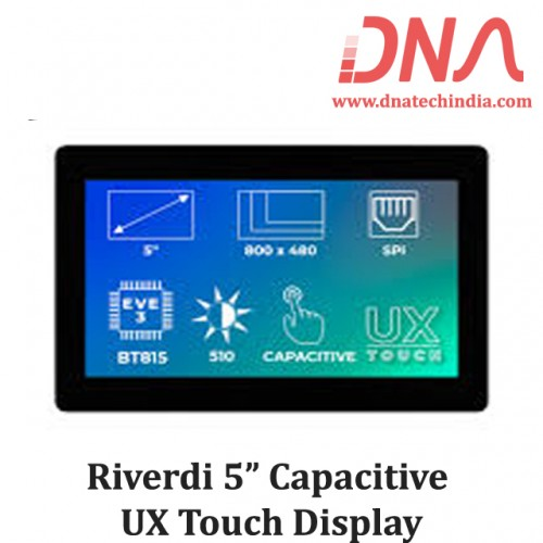 "Riverdi 5"" Capacitive UX Touch Display"