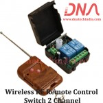 Wireless RF Remote Control Switch 2 Channel