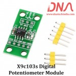 X9c103s Digital Potentiometer Module