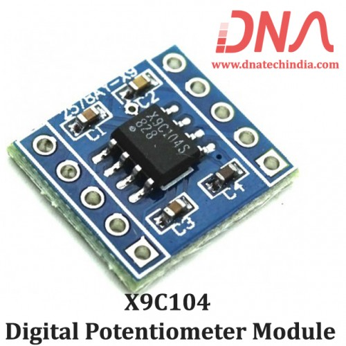 X9C104 Digital Potentiometer Module