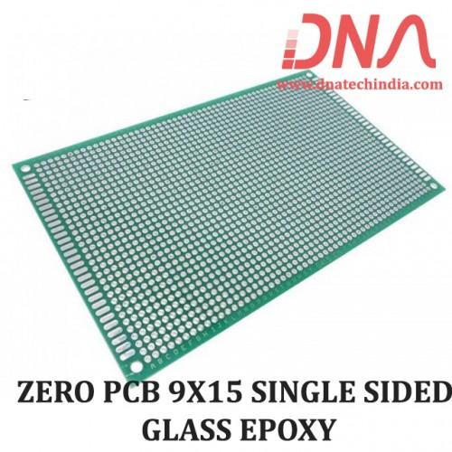 ZERO PCB 9X15 SINGLE SIDED GLASS EPOXY