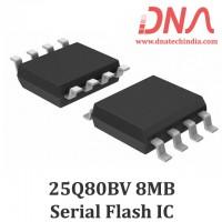 W25Q80BV 8MB Serial Flash Memory IC