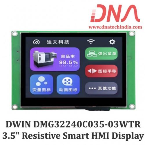 "DWIN DMG32240C035 3.5"" Smart Resistive Touchscreen Display"