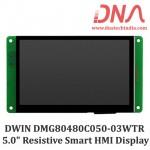 "DWIN DMG80480C050 5.0"" Smart Resistive Touchscreen Display"