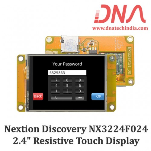 """Nextion Discovery NX3224F024 2.4"""" Resistive Touch Display"""